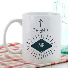 A perfect graduation gift! This mug is a great idea to give to ...