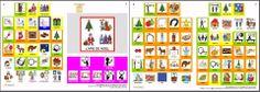 MATERIALES - Noël en pictogrammes ARASAAC.  Originaux téléchargeables depuis le site :   http://arasaac.org/materiales.php?id_material=1099  Deux formats sont proposés, PDF, et .doc, ce dernier permettant de personnaliser les documents, pour par exemple supprimer et remplacer un picto, modifier le texte imprimé sous le picto...