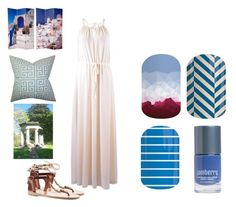 """Jamberry Nails - Greece"" by kspantonjamon on Polyvore featuring beauty and Ancient Greek Sandals"