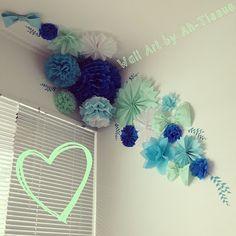 Paper Wall Art by Ah-Tissue - Love it!!