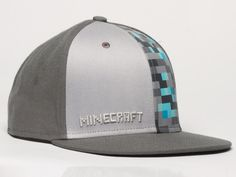 J!NX : Minecraft Diamond Crafting Premium Snap Back Hat - Clothing Inspired by Video Games & Geek Culture