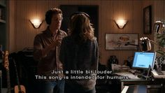 Just a bit louder ~ Music and Lyrics (2007) ~ Movie Quotes #amusementphile