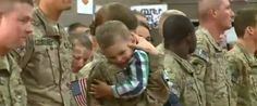 When Soldier Returns Home, Her Toddler Son Can't Contain His Excitement