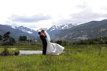 Creekside wedding in Rocky Mountain National Park by Marry Me In Colorado