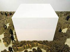 Galeria de arte - cubo branco