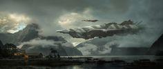 "rhubarbes: ""ArtStation - ESA Wolf, by Nick Foreman """