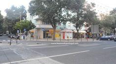 Agência Banco Montepio Geral na Praça de Londres em Lisboa, Portugal