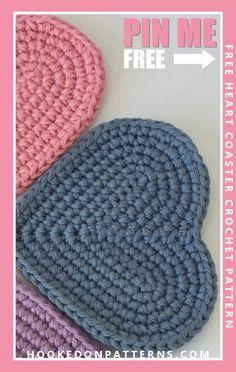 Crochet Home, Crochet Gifts, Crochet Kitchen, Diy Crochet, Diy Kitchen, Crochet Ideas, Crochet Coaster Pattern, Crochet Patterns, Crochet Simple