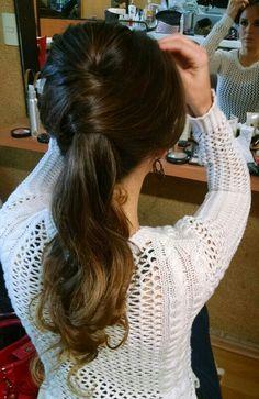 Peinado coleta Yuri Salon