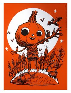 New Limited Halloween Print by Rhode Montijo available at:http://rhodemontijo.blogspot.com/2013/10/new-limited-print.html
