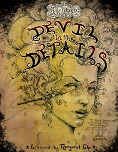 The Art of Molly Crabapple Volume 2: Devil in the Details is up for pre-order! This is a collection of my fine art, poster art and everything in between, done over the last few years, with a forward by Margaret Cho, comedy goddess and patron saint of weird kids everywhere. To encourage you to pre-order the beast, I'm having another contest