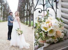 pavot, poppy wedding bouquet