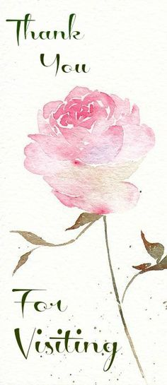 Pink rose watercolour watercolor painting - print to fabric for pillow Watercolor Rose, Watercolor Cards, Watercolour Painting, Painting & Drawing, Watercolors, Tattoo Watercolor, Lotus Drawing, Guache, Painting Inspiration