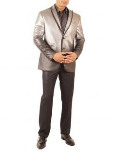 Stylish grey Leather jackets by Amit Arora,  Guys now you can make girls go crazy this winters...