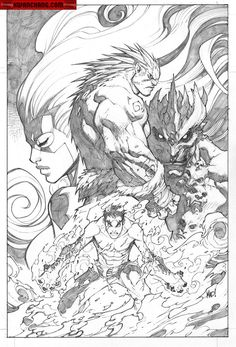 Inhumans #3 | Joe Madureira