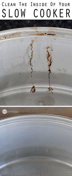 Great information on how to clean your crock pot! (scheduled via http://www.tailwindapp.com?utm_source=pinterest&utm_medium=twpin&utm_content=post55615316&utm_campaign=scheduler_attribution)