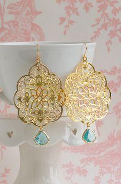 Bohemian style - summer fun earrings!