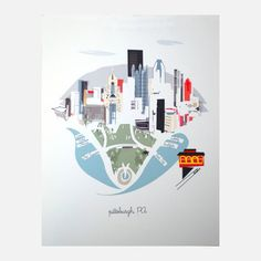 Pittsburgh, $26, now featured on Fab. [Kim Sly, Albie Designs]