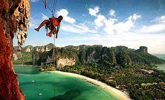 หาดไร่เลย์ สวรรค์ของนักปีนผากับ 600 เส้นทางผจญภัย #หาดไร่เลย์ #กระบี่ #ปีนผา