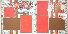 Layout Kit - Beautiful Dreamer (PP) - 801407 Blue Bayou, Little Boy Blue, Card Kit, Scrapbook Supplies, Paper Design, Faeries, Pattern Paper, Christmas Cookies, Girl Birthday