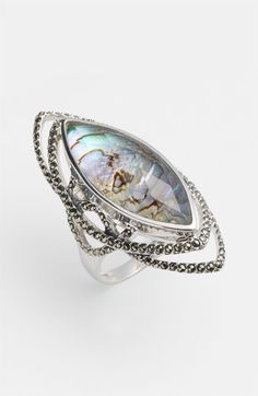 Judith Jack Abalone Doublet Ring available at #Nordstrom