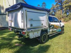Tray Mate Campers - Aluminium Ute Canopies. Slide on camper VW amarok