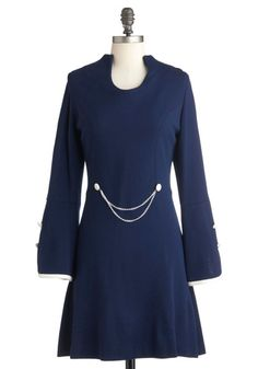 Vintage This Bold House Dress --raise the collar in back and taper to front, change sleeves to French cuff