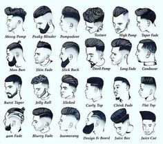 Estilo corte e barba
