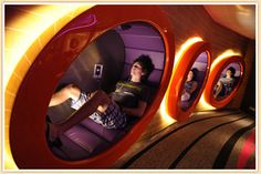 Teens are so lucky!! I would love to have this area for adults!!! Disney Dream/Fantasy Vibe