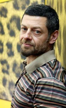 Andy Serkis-Perhaps best known for playing the most classic example of a homeless, gold junkie with a bi-polar complex.