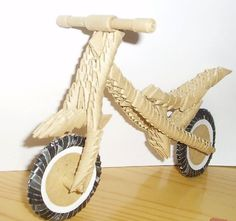 3D+Origami | 3D Origami - BMW Bike | Origami and PaperCraft – Origami Paper Club