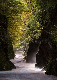 fairy glen, wales #travel