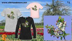 Lass den Frühling auch auf Dein Shirt: www.shirtandmore.net