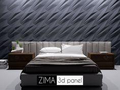 Zima-гипсовая 3d панель