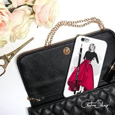 """Say hello to my new collection 'The Fashion Illustrator', perfect for give a fancy new look to your phone! ❤  Live on @nuvango as case and skin (for IPhone, Samsung, IPad, Ipod, Kindle, laptop and much more!). Isn't she magic?"" via https://instagram.com/p/5ZX1yoonMI #Nuvango #NuvangoCommunity"