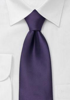 Moulins Krawatte in dunkelviolett