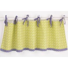 "Cotton Tale Periwinkle 50"" Curtain Valance"