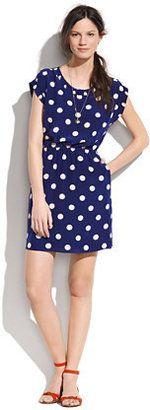 Madewell- Silk dotty dress
