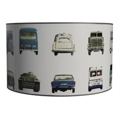 Lamp auto behang studio Ditte