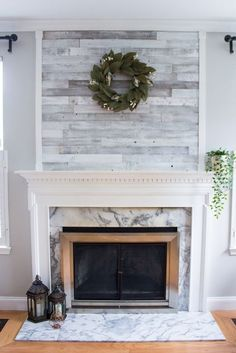 4 Swift Simple Ideas: Small Living Room Remodel Cabinets living room remodel with fireplace interior design.Living Room Remodel Before And After Budget small living room remodel cabinets.Living Room Remodel With Fireplace Mantels. Fireplace Update, Shiplap Fireplace, Farmhouse Fireplace, Home Fireplace, Fireplace Remodel, Fireplace Surrounds, Fireplace Design, Fireplace Mantels, Fireplace Ideas