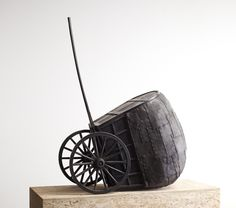 "Martin Puryear, ""The Rest,"" 2009-10. Bronze. 47 × 35 × 20 inches. Edition of 2. © Martin Puryear. Courtesy McKee Gallery, New York."