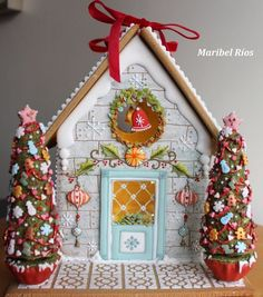 1 million+ Stunning Free Images to Use Anywhere Gingerbread Village, Gingerbread Decorations, Christmas Gingerbread House, Gingerbread Cookies, Christmas Decorations, Gingerbread House Decorating Ideas, Christmas Goodies, Christmas Baking, Christmas Time