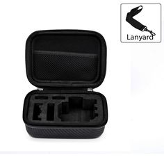 Action Camera Protective Case - PU Leather, EVA Foam, For GoPro HD Hero 4, 3…