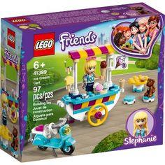 Ice Cream Toy Set, Ice Cream Cart, All Lego Sets, Lego Friends Sets, Legos, Party Expert, Buy Lego, Lego Minecraft, Lego Lego