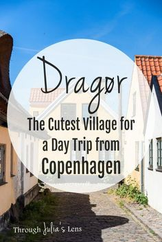 Dragør is the perfect place for a day trip from Copenhagen! It's the cutest fishing village, and I have lots of recommendations for things to see in Dragør Visit Denmark, Denmark Travel, European Destination, European Travel, Europe Travel Guide, Travel Guides, Travelling Tips, Lofoten, Stockholm Sweden