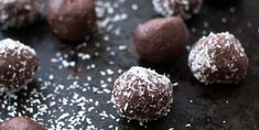 My Peanut Butter Protein balls are here to get you through that afternoon slump. Clean Recipes, Healthy Recipes, Healthy Cooking, Healthy Foods, Keto Recipes, Healthy Eating, 28 By Sam Wood, Chocolate Protein Balls, Protein Bites