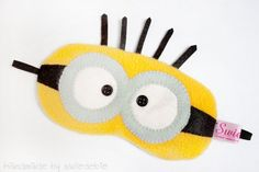 Sleeping Eye Mask - Minion