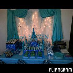 Frozen themed Birthday party! #Disney #Frozen