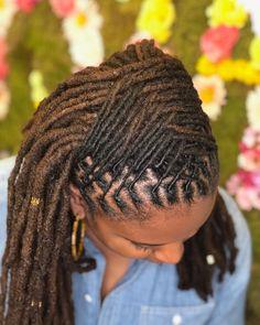 Dreadlock Styles, Dreads Styles, Dreadlock Hairstyles, Braided Hairstyles, Long Natural Hair, Natural Hair Styles, Beautiful Dreadlocks, Dreads Girl, Hair Locks