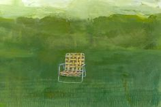 Yellow Lawn Chair